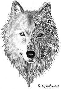 Malvorlagen Mandala Wolf Malvorlagen Wolf