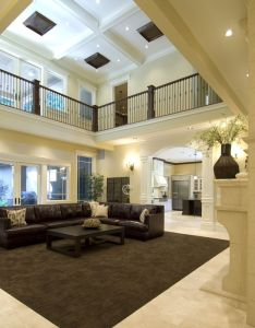 Love the marble floor wrap around carpet talk about an open living room plus  walkway also dream home pinterest walkways wraps rh