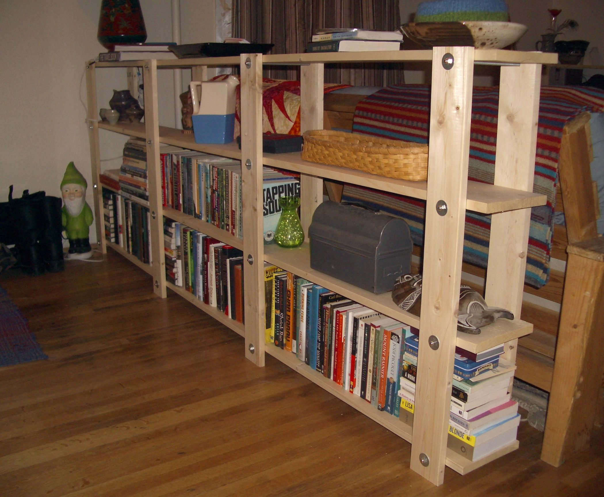 how to build a simple bookcase sofa table loft bed scs cheap easy low waste bookshelf plans shelf system
