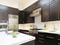 Tiny Dark Kitchen Color Schemes Dark Kitchen Cabinets ...