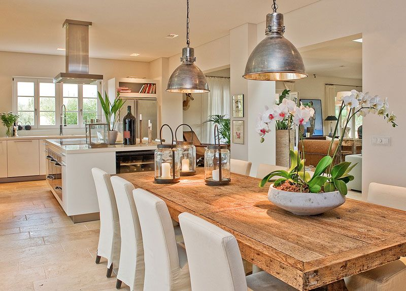 17 Ideas About Farm Style Open Plan Kitchens On Pinterest
