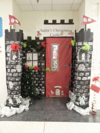 decorate our classroom door to represent the holiday ...