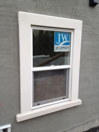 exterior stucco window trims