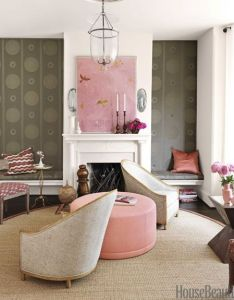 pretty color combo pink  brown house beautiful decor ideasdecorating also rh pinterest