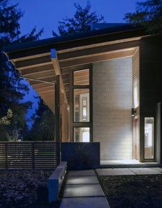 Explore house exterior design wood and more light that shines up down also inspirational lighting pinterest rh