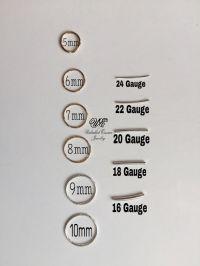 Nose Hoop Gauge Sizes | www.pixshark.com - Images ...