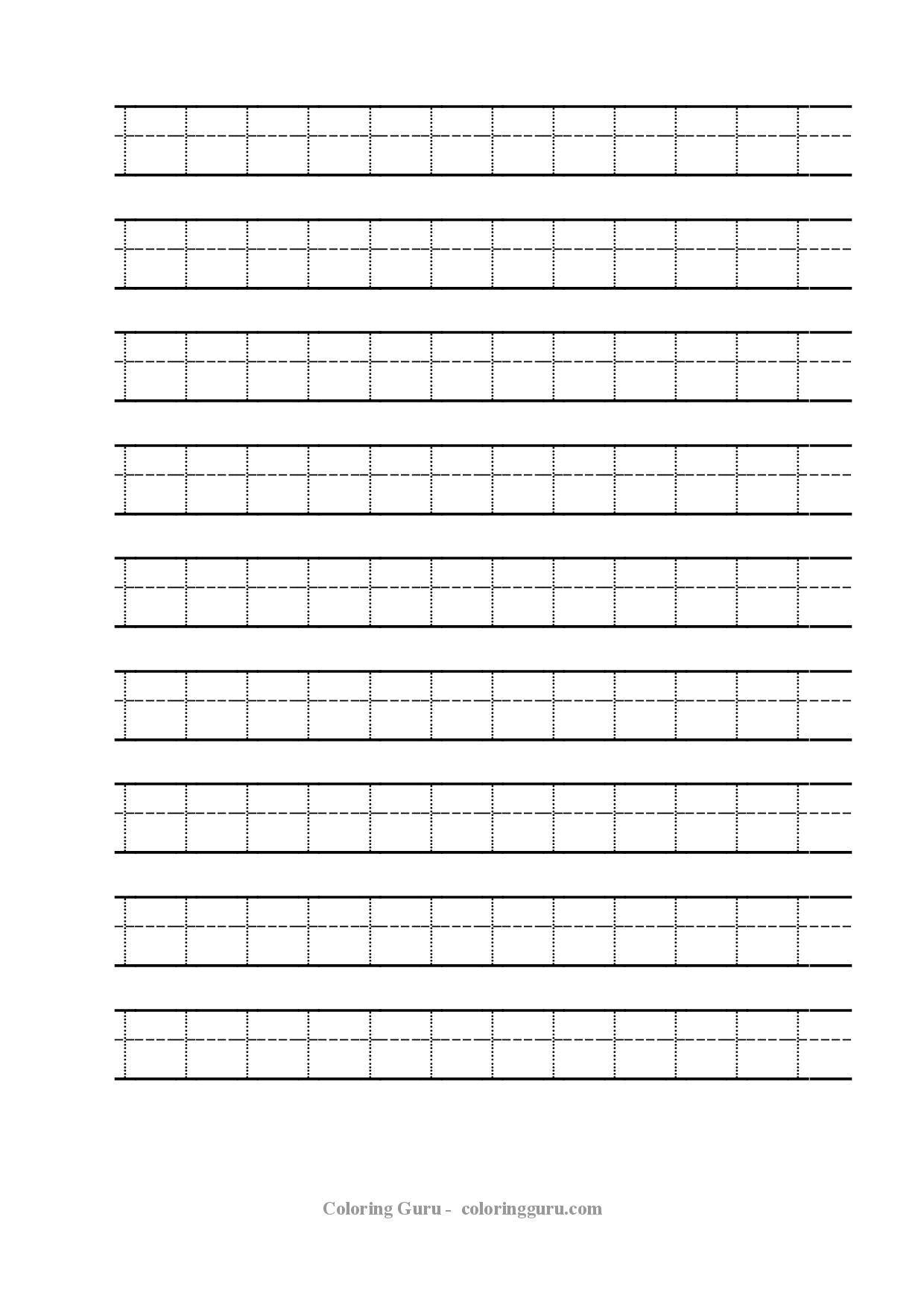 Free Printable Tracing Number 1 Worksheets