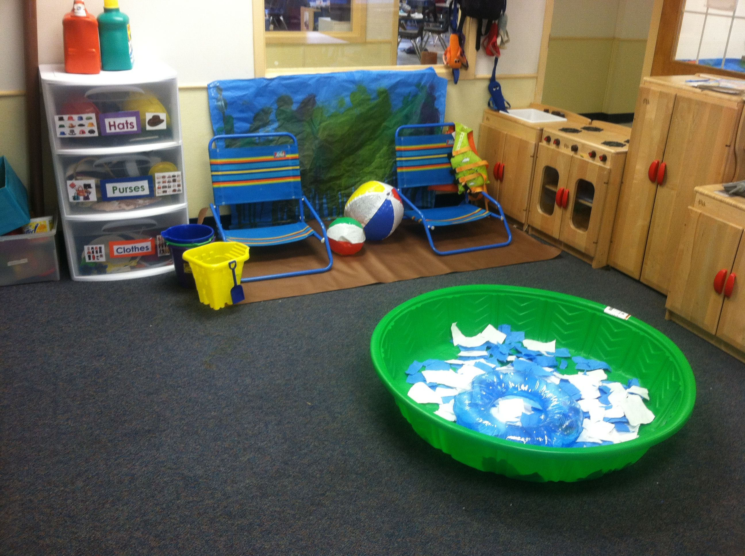 Enriching The Dramatic Play In My Preschool Room Can You Tell It S The Beach