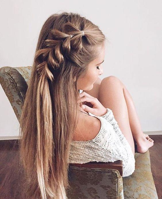 Einfache Frisuren Für Weihnachten Haare Und Beauty Pinterest