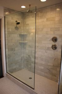 Design Of The Doorless Walk In Shower | Badrum och House