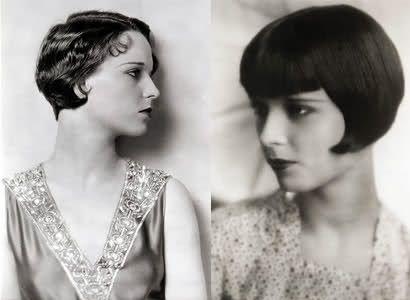 Louis Brooks' Short Haircut 1920 Style Fashion Pinterest