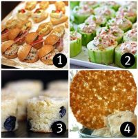 Baby shower food ideas for girls | Baby shower foods, Food ...
