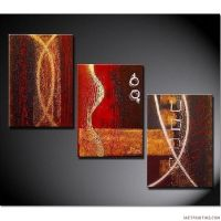 Acrylic+Painting+Ideas | Abstract Paintings 3pcs Canvas ...