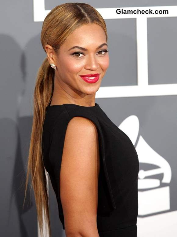 Beyonce Classy Ponytail Hairstyle Ponytail Hairstyles