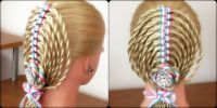 The Ribbon Twist Braid / Hairstyle / Hair Tutorial ...