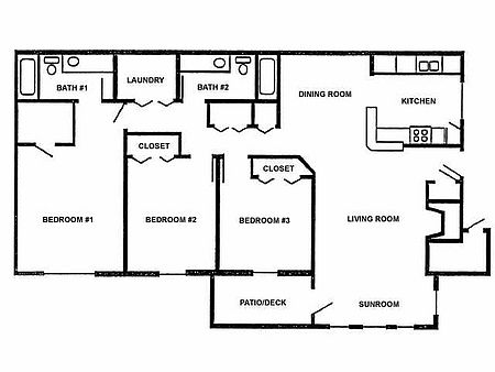 Electrical Drawing Of A 3 Bedroom Flat