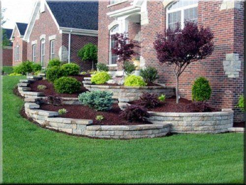 One Can Only Dream!! Landscape Sloped Lawn Landscape Design