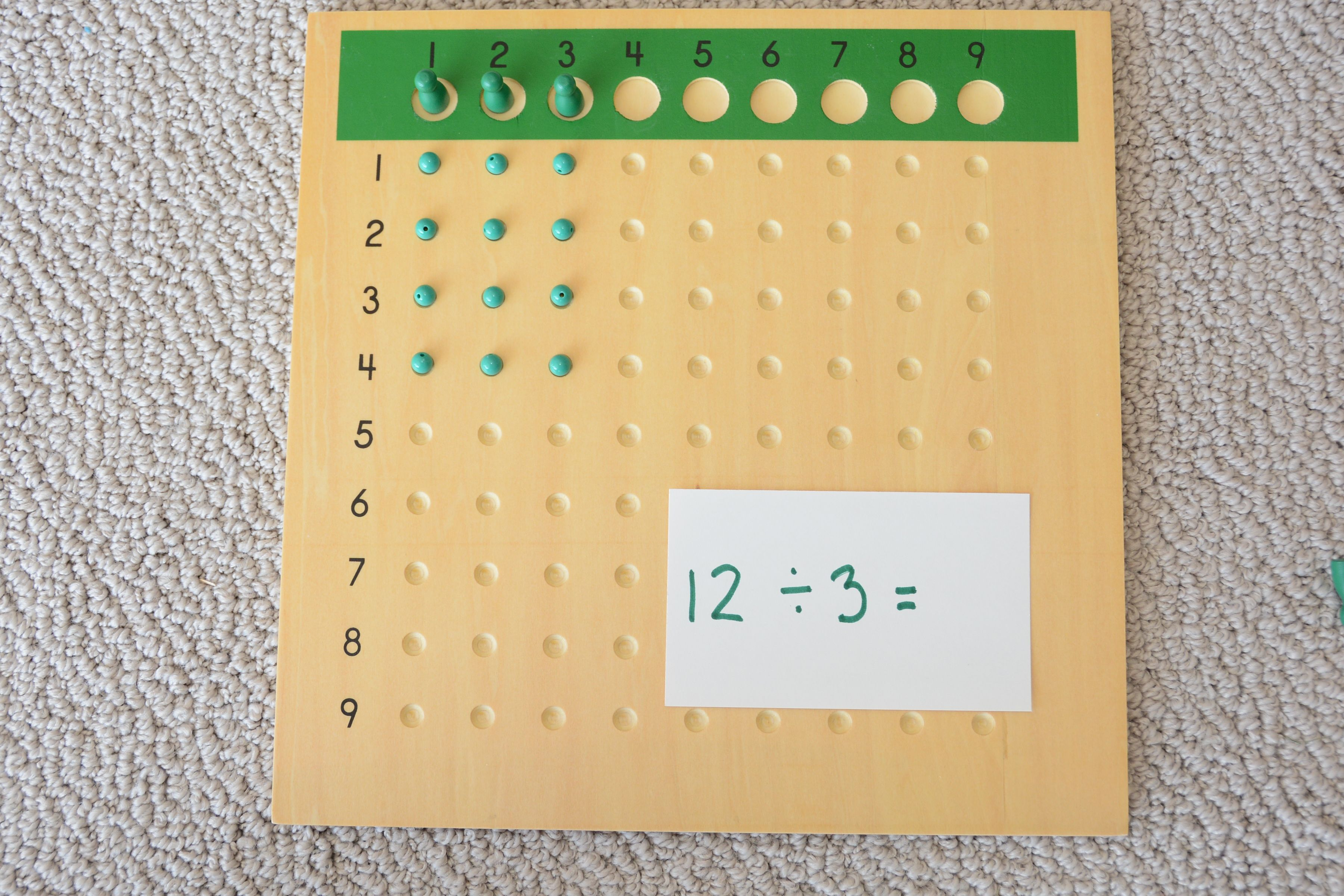 Division Bead Board This Is Why I Love Montessori
