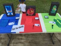 PJ Masks Birthday Entry table - Pick Your Identity | Noah ...