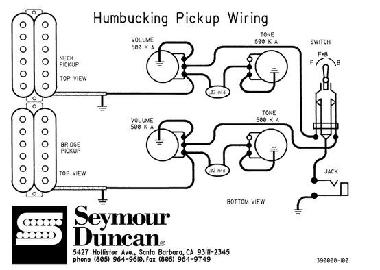 Electric Guitar Wiring Diagram Two Pickup : 41 Wiring