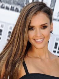 Love Side-Swept Hair? Try a Punky Braid Like Jessica Alba ...