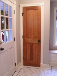 White Interior Doors With Stained Wood Trim | www.pixshark ...