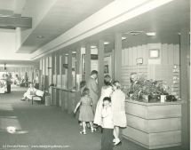 Disneyland Hotel Check-in Counter 1950s