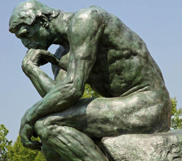 Rodin The Thinker Sculpture