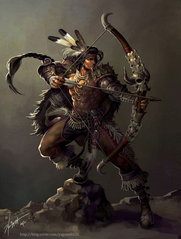 Native American Archer
