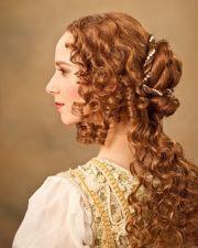 renaissance hairstyle hair