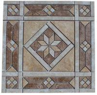 "21 1/2"" Ceramic Tile Medallion - Daltile's Heathland ..."