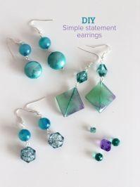 Simple Homemade Earrings | www.pixshark.com - Images ...