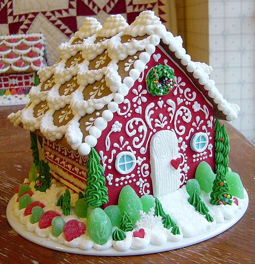 Sassybeautimus Does Beautiful Gingerbread Houses Gingerbread