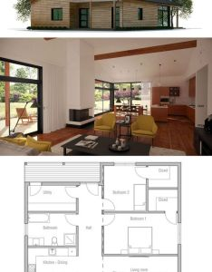 Small house plan contenedor pinterest plans smallest and also rh