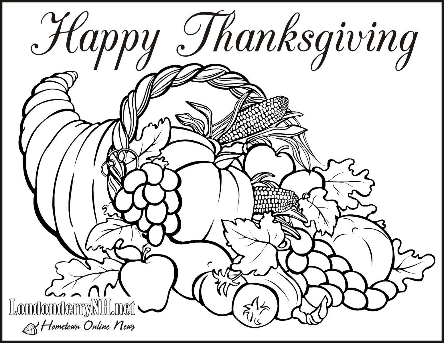 November Coloring Pages Free