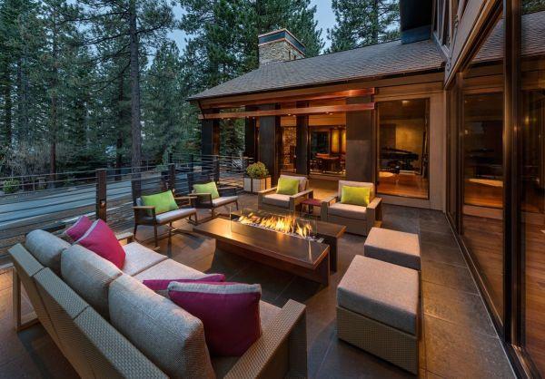 Mountain Modern Outdoor Living Spaces