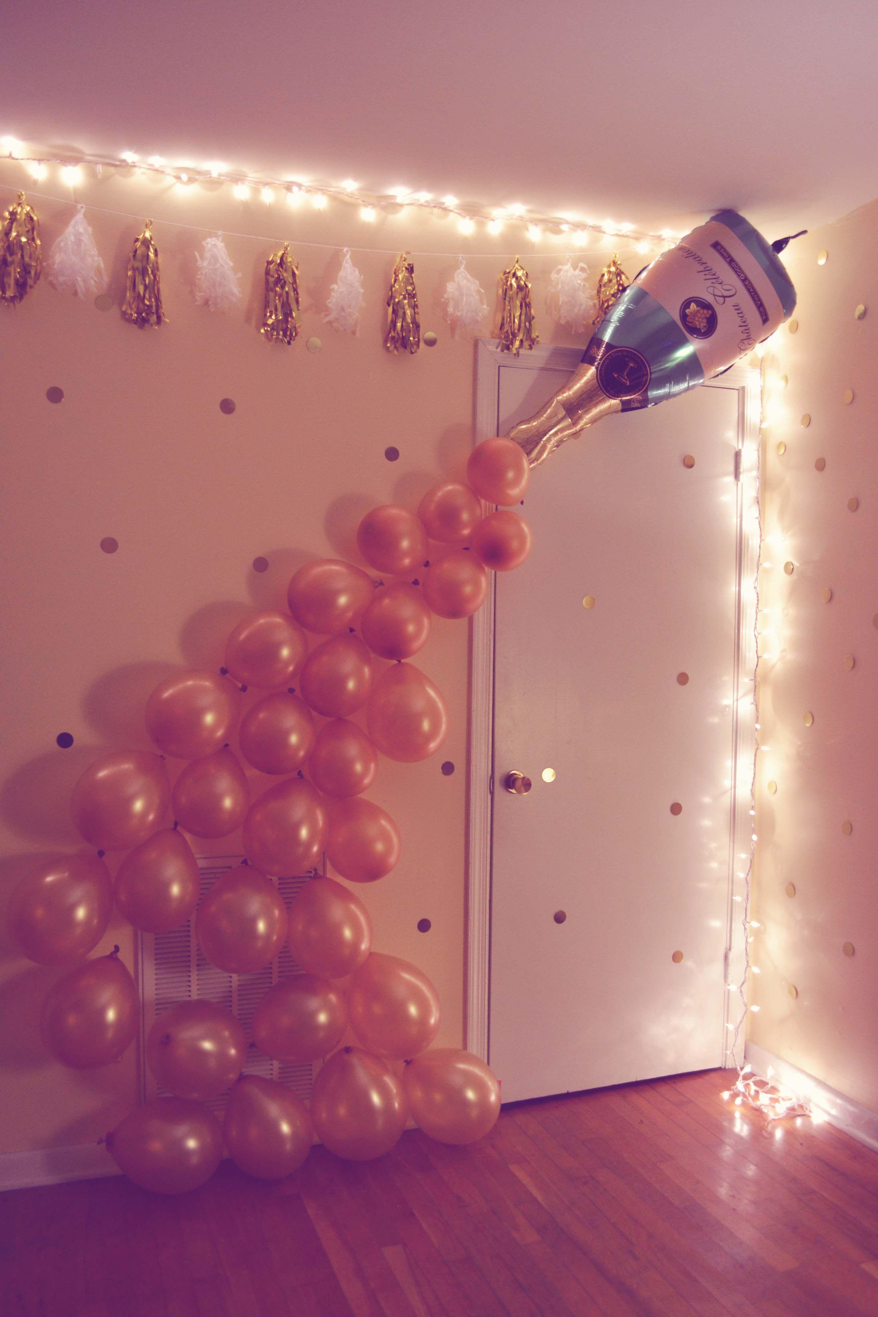DIY 21st Birthday Party 21st Birthday Parties 21st Birthday And