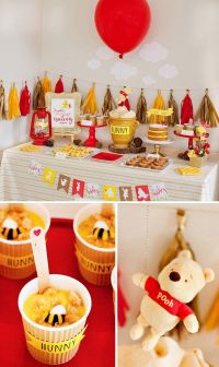 This Winnie the Pooh Baby Shower Is Cute Yet Glamourous ...