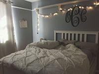 my room teenage bedroom fairy lights grey white bedroom ...