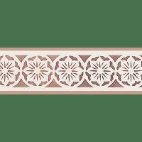 Victorian Lace Border Stencil | Victorian lace, Stenciling ...