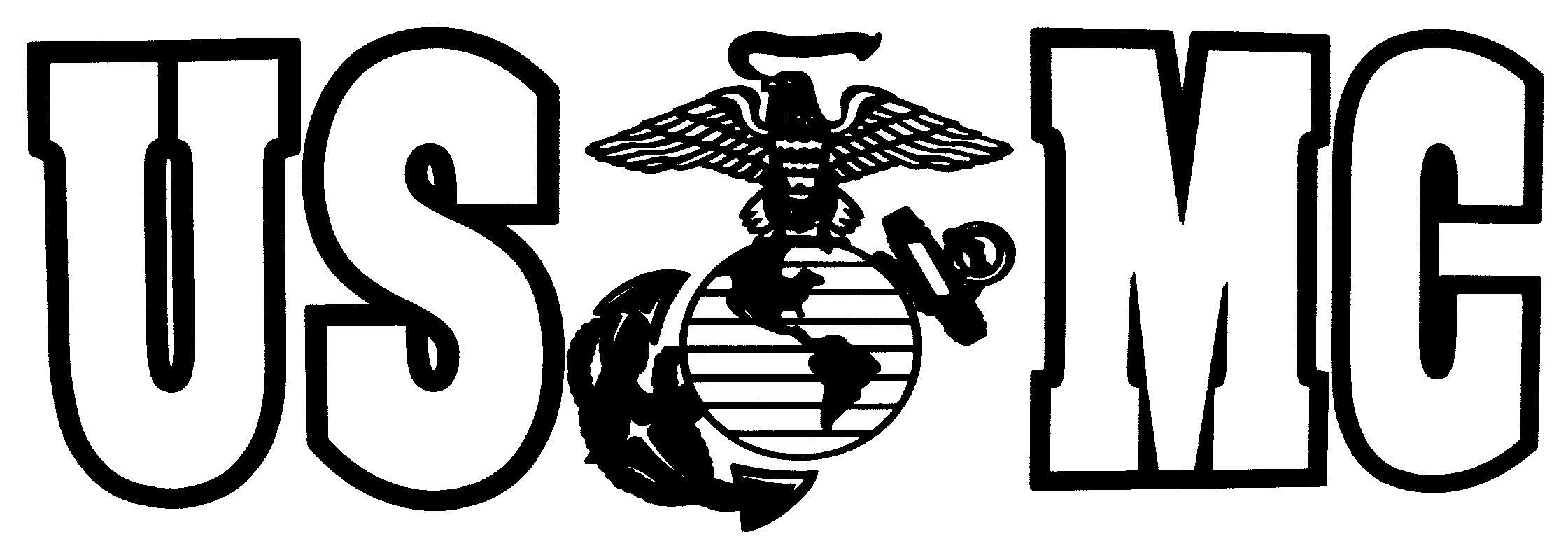 Marine Corps Usmc Eagle Globe And Anchor Decal