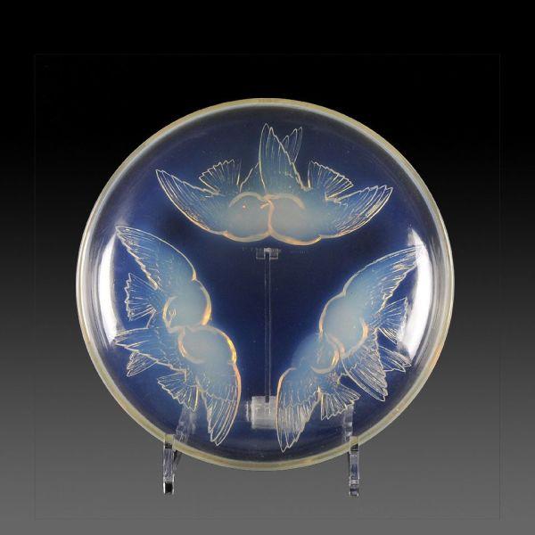 Authentic Art Deco Glass Bowl 'nonettes' Rene Lalique