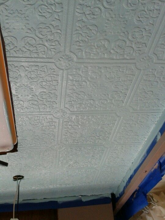 How To Fix Falling Wallpaper Rv Ceiling Wallpaper Prior To Painting Our Rv Remodel