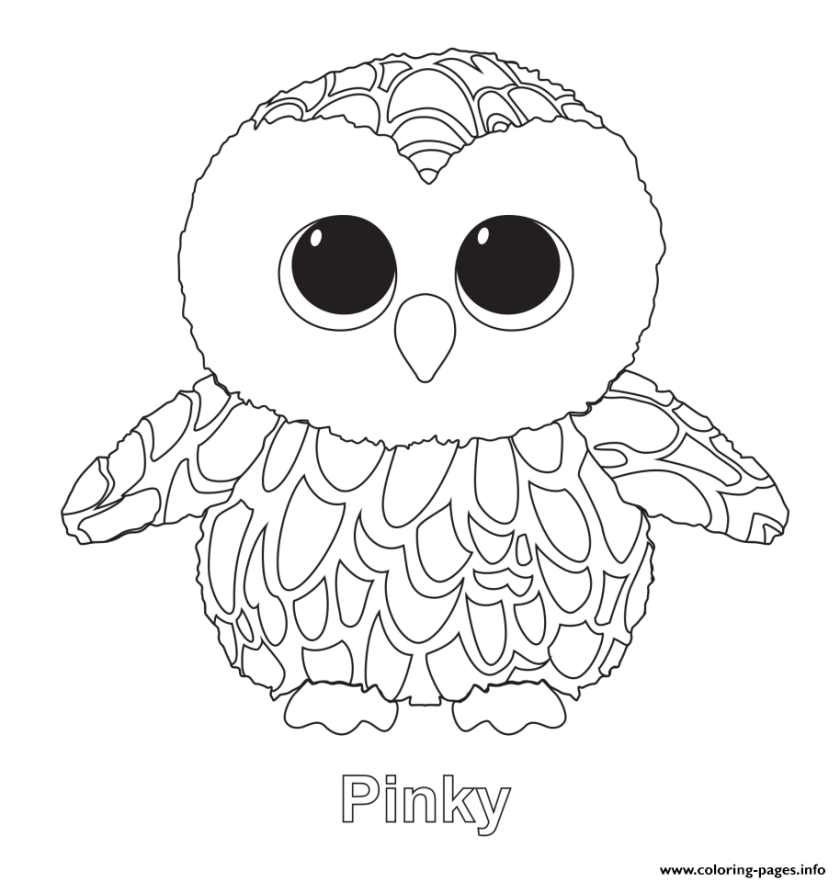 print pinky beanie boo coloring pages  lg v10 cell phone