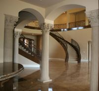 House Interior Column Designs #stairs Pinned by www.modlar ...