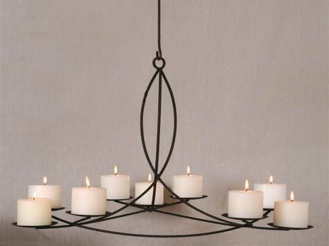 For Hanging A Candle Chandelier With Regular Design Http Monpts