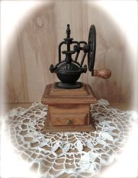 Vintage Coffee Grinder - Rare Exposed Gears Grinder ...