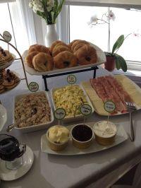 Croissant bar!! Great baby shower brunch idea. | Recipes ...