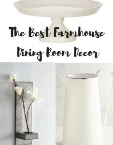 Decorating this shows the best also farmhouse dining room decor and group rh pinterest