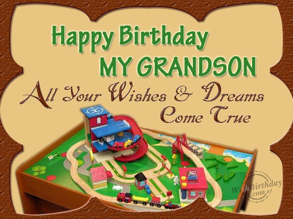 Happy Birthday My Grandson Quotes